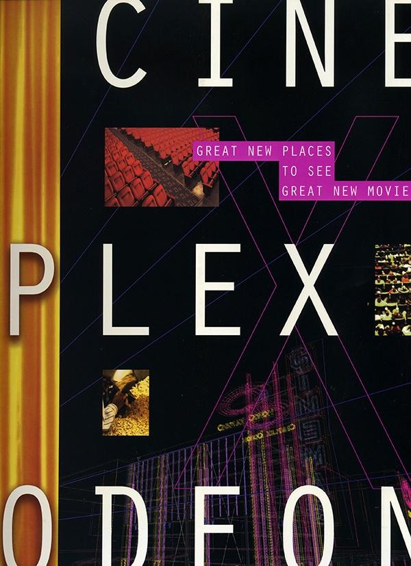 Cineplex print brochure cover -- Portfolio