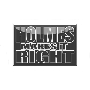 Holmes-Makes-It-Right Logo Greyscale -- Clients
